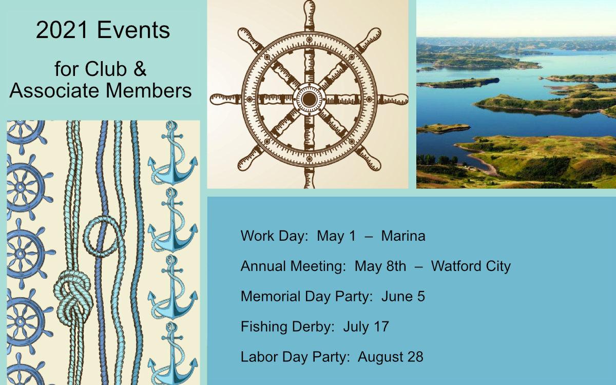 McKenzie Bay Members' Calendar
